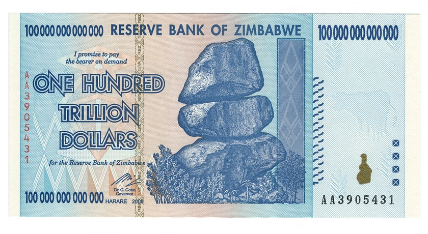 Vart tog alla amerikanska dollar i Zimbabwe vägen?