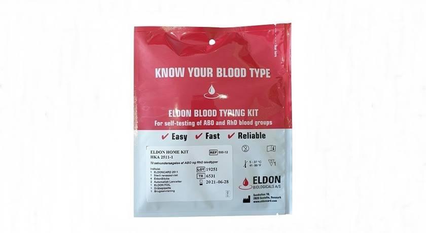 Beställ blodgruppstest